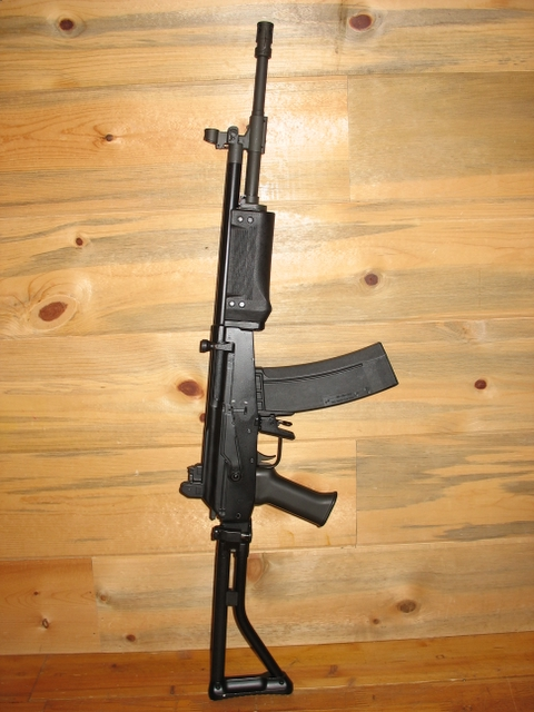 And finally we have the Galil. It has a great iron sights, it is powerful